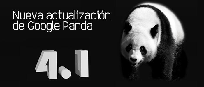 Nueva actualización de Google Panda