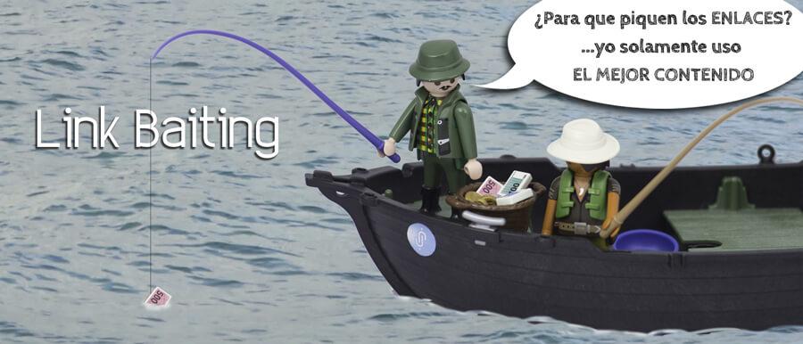 Link Baiting: El arte de pescar enlaces enamorando a la audiencia