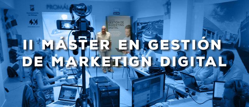 I edición del Máster en Gestión de Marketing Digital: Jesús Pernas impartiendo el módulo de ecommerce