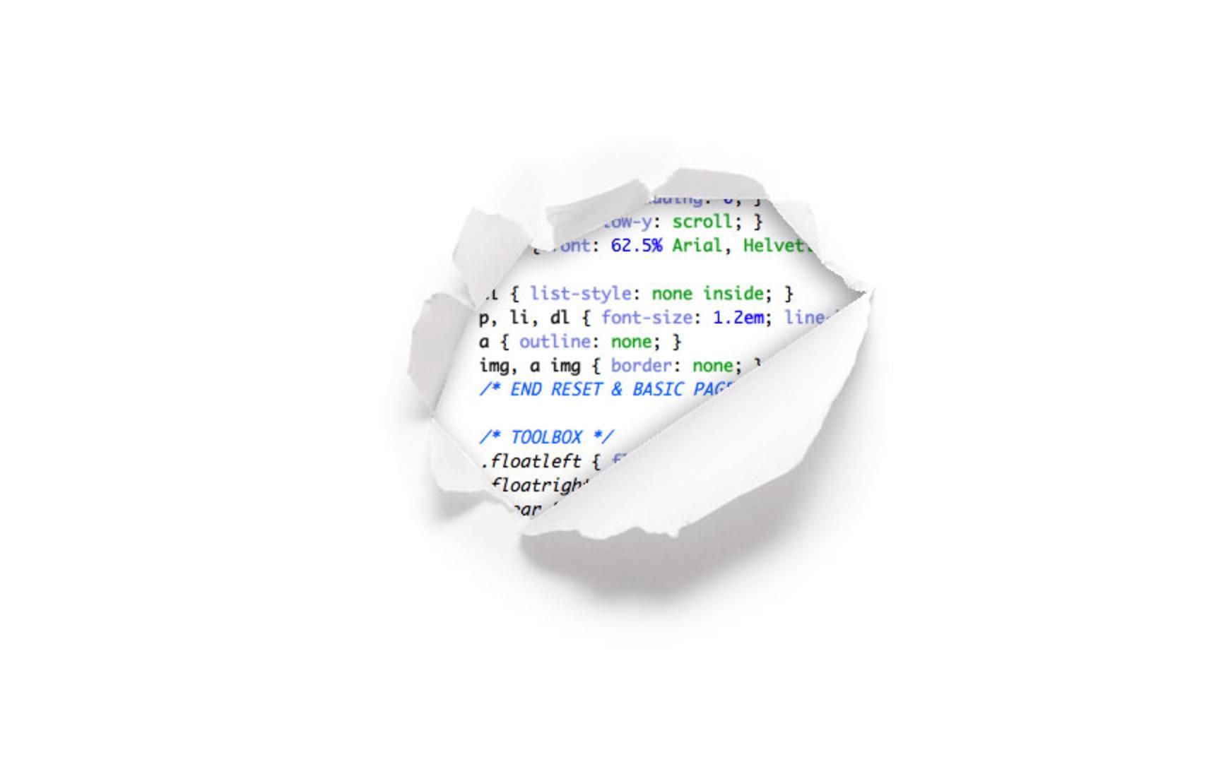 En CSS-Tricks tienen una página 404 tan minimalista que realmente carece de utilidad.