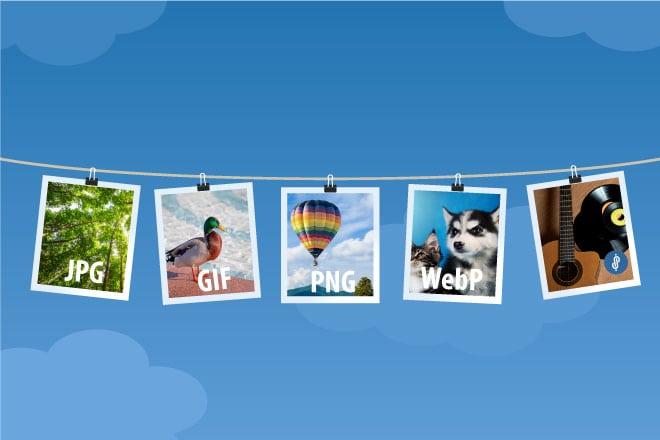 ¿Que formato de imagen usar en mi web?